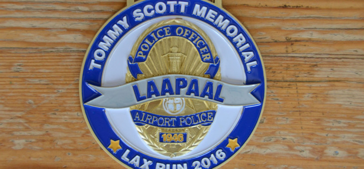 Custom 3D police badge runner medals